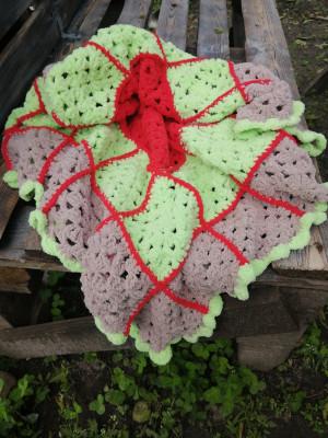 Cozy crochet blanket, Crochet baby blanket, Patchwork blanket