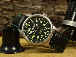 Soviet watch, Raketa Aviator watch, 24 hours scale military watch, gift for him, USSR mens watch, retro vintage watch