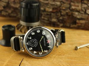 Soviet watch Komandirskie watch, military watch, mechanical watch, USSR vintage watch, mechanical mens watch