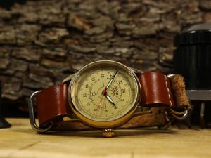 USSR watch, Raketa Pilot watch, 24 hour scale, antique watch, vintage mens watch, gift soviet watch