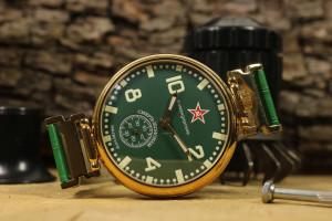 Mens watch, Soviet watch, USSR vintage watch, Komandirskie watch Death to Spies, antique watch, rare soviet watch