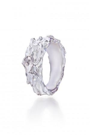 Signet ring Minimalist chunky silver ring. mens signet ring twisted band ring, sterling silver ring