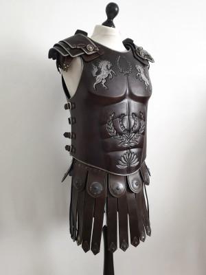 Roman Armor, Fantasy leather armor, Roman leather armor, muscle armor, Skyrim Imperial armor, Lorica Musculata