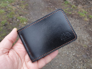Wegetable Tanned Leather Wallet, Bifold Wallet, Leather Wallet, Leather Money Clip Wallet, Mens Wallet, Holiday Gift, Original Gift