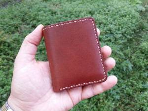 Small Leather Wallet, Minimalist Wallet, Slim Leather Wallet, Mens Wallet, Women's Wallet, Leather Bifold, Vegetable Tanned Leather Wallet,