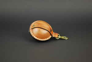 Small coin purse, leather money pouch, men belt pocket, mini pocket or hip wallet