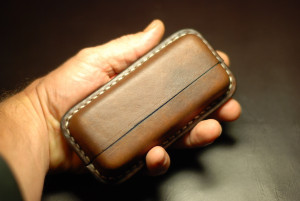 Leather case for tobacco sticks HEETS for IQOS, mens cigarette box, smoking accessories