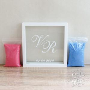 Sand Ceremony Set-Personalized Wedding Sand Ceremony Frame-Unity Sand Ceremony Set-Personalized Photo Frame For Sand Ceremony-Sand Ceremony