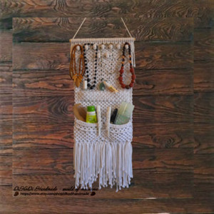 Hanging jewellery organiser, Home organization products, Storage solutions for small apartments, Hanging jewelry holder, Tiny house storage