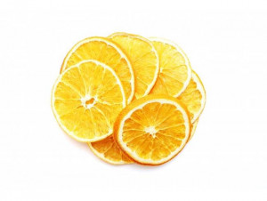 Orange slices, dried orange, natural Dried Orange fruit