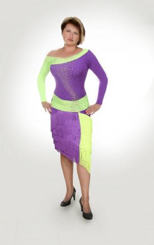 Latin dress for ballroom dancing TASTE OF LIME