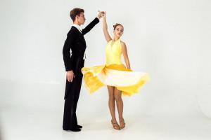 Ballroom dress for dance SUNRISE