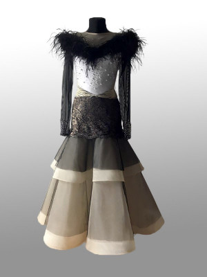 Ballroom dress for ballroom dancing PRIMA
