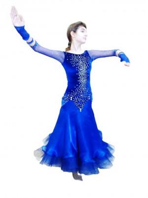 Ballroom dress for ballroom dancing STAR NIGHT