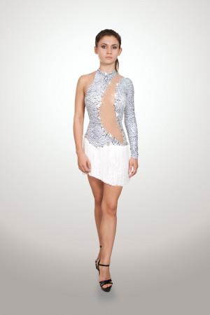Latin dress for ballroom dancing WILD BEAUTY