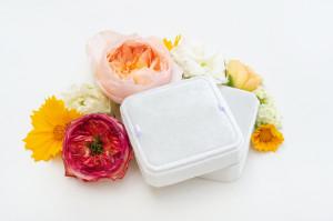 Velvet box - Velvet bracelet box - Jewelry box - Mascarpone
