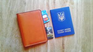 Family passport holder Leather passport cover Travel wallet Passport case Document wallet Card passport holder Travel passport holder