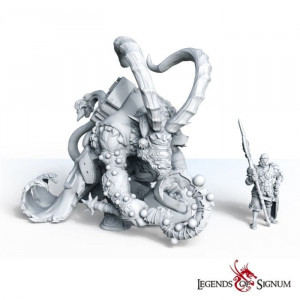 Krampus Large Scale | High-quality resin fantasy miniature | Collectible | Christmas/New Year