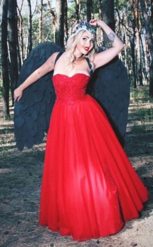 big black wings for girl / black angel wings for fashion shows, program shows / sexy costume photography props