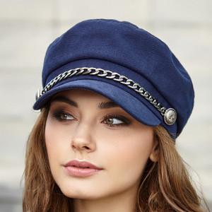 Military vegan hat for women Newsboy cap Navy baker boy hat Fiddler cap
