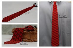 Red tie mens tie 3d ornament heart Ukrainian mens tie Ukrainian ornament Tie Men Gift Men Accessories Gift Ukrainian style Ukrainian jewelry