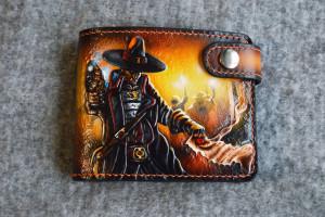 Warhammer 40k Inquisition. Short tooled wallet.