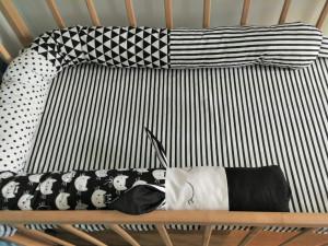 long crib bumper pillow - snake pillow crib