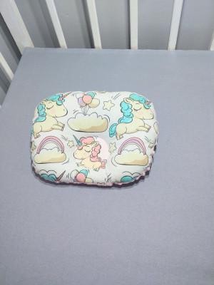 soft minky orthopedic pillow 12 х 10 inches