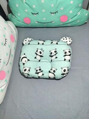 panda pillow - mint orthopedic pillow