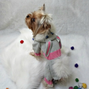 hand knit dog clothes pet costume  knitted dog costume dog clothes pet clothes for dogs yorkie dog clothes dog costumes sweater for dog