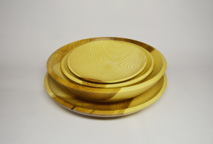 Handmade Decorative Bowls / Plates - Handturned Wood Platters - Custom Made Salad Bowl - Food Platter