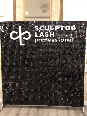 Shimmer Sequin Air Active Panel - Sequin Panel - Wedding Backdrop - Event Backdrop - AirFleck - Live Panel