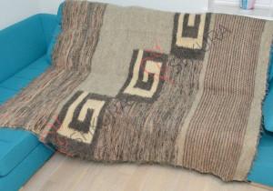 Scandinavian Wool Blanket Adult thick blanket Natural throw blanket Wool heavy blanket Large Wool Blanket Handmade  throw blanket
