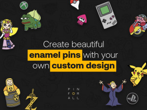 Custom Enamel Pins With Your Design - Production and Wholesale Soft Enamel Pins - Personalized Lapel Pins