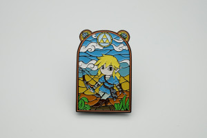 Metal Pin The Legend Of Zelda Breath of the Wild Badge Lapel pins