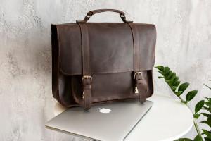 Leather Briefcase, Convertible Backpack, Shoulder bag, Work bag, Leather Backpack, Laptop messenger bag, Lawyer briefcase,Briefcase backpack