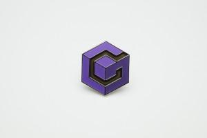 RARE Metal Pin Nintendo GameCube Logo