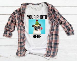 Custom Design Shirt, Personalized T-Shirt, Your Image Here Shirt, Customized Tshirt, Custom Made Shirt, Birthday Gift Shirt, Funny Shirt
