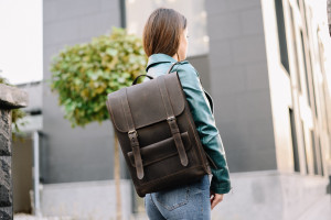 Brown leather backpack women,Leather bag,School backpack,Leather backpacks,Backpack women,Laptop backpack,Laptop backpack women,Leather Gift