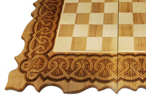 3 in 1 Wooden Chess set & Backgammon with figures Chess board wooden Checker board Chess box  Husband gift Boyfriend gift Me's gift