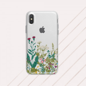 Wildflowers iPhone Xs max floral phone case iPhone XR wild flower case Cute iPhone X case floral iPhone x case wildflower case Galaxy Note 9