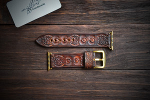 Leather applewatch band. Watchstrap. Watchband. Apple watchband