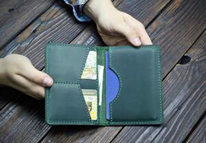Leather Passport Holder Personalised Passport Cover, Leather Wallet Men, Traveler's Gift, Passport Case Travel Gift  Couple Gift,Monogrammed