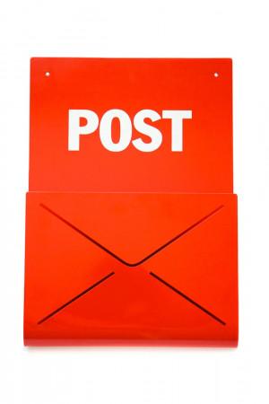 Metal Rack shelf correspondence organiser for biils magazines or books // modern office home decor // wall decor // FREE SHIPPING  WORLDWIDE