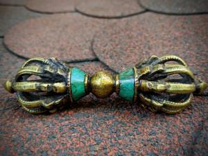 Tibetan Buddhist Vajra Dorje Ritual Instrument Symbol of Relative Condition