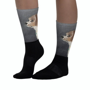 Socks with print Puppy. These socks are extra comfortable thanks to their cushioned bottom.