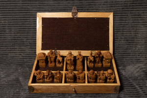 """Historical """"Europe-Rus-Asia"""" chess, Unique handmade wooden chess, Wood carving, Gift for friend, Exclusive Chess, Original wood art"""
