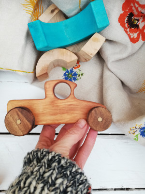 Wooden car, Wooden car toy, Toy Car, Baby Car, Wooden Toddler Toys, Heirloom Toys, Montessori toys, Wooden Toys for Boys, Wooden vehicles