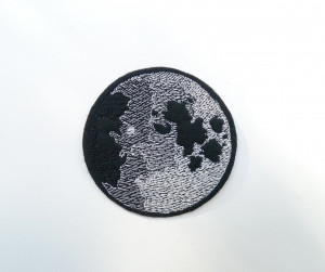 Moon phases Patch - Space Patch - Bag accessories - Patches for Jackets - Iron On Patch - Embroidered patch