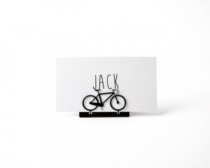 Place card holder wedding theme party Bicycle SET of 30